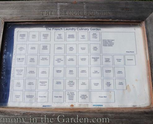 garden's menu