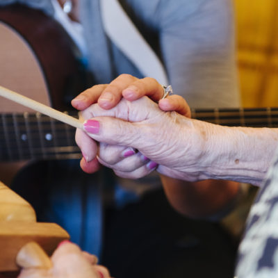 music therapy procedural support
