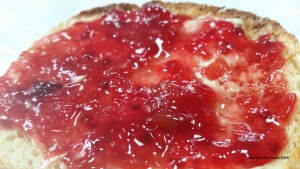 Rhubarb jam - I make strawberry rhubarb, blueberry rhubarb, cherry rhubarb and raspberry rhubarb. Enjoy, it is a delicious treat!