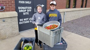 We were happy to work with the local food shelf and donate some produce including peppers, potatoes, squash and beets.