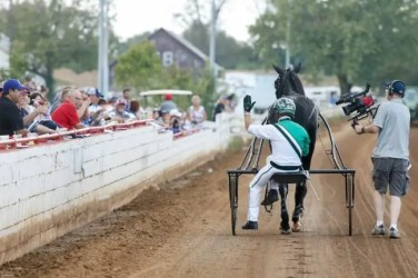 Dave Landry | In a week's time, Jimmy Takter (shown waving goodbye in October at Red Mile) will retire as a trainer.
