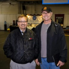 Triscari Video Web and Marketing | Sale president and CEO Dr. Pete Spears (left, with trainer Dustin Jones), said it was a fantastic sale.