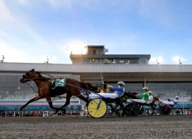 New Image Media | The hope is the broadcast teams at Mohawk (shown) and the Meadowlands will promote each other.