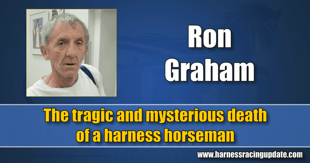 The tragic and mysterious death of a harness horseman