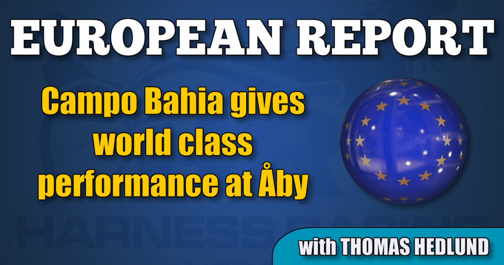 Campo Bahia gives world class performance at Åby