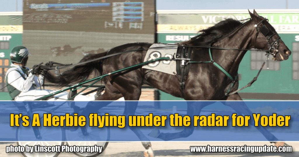 It's A Herbie flying under the radar for Yoder