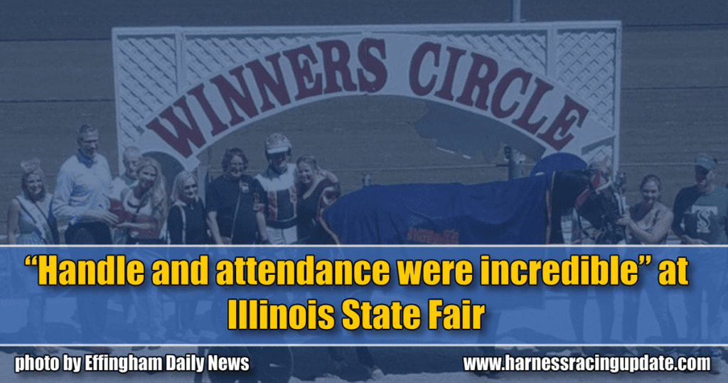 """""""Handle and attendance were incredible"""" at Illinois State Fair"""