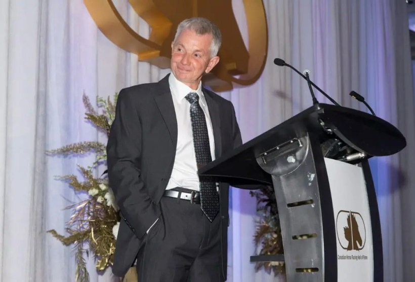 Canadian Horse Racing Hall of Fame | After enduring endless ribbing during the evening about his alleged frugality, driver Trevor Ritchie ended the ceremony with one of the best speeches of the night.