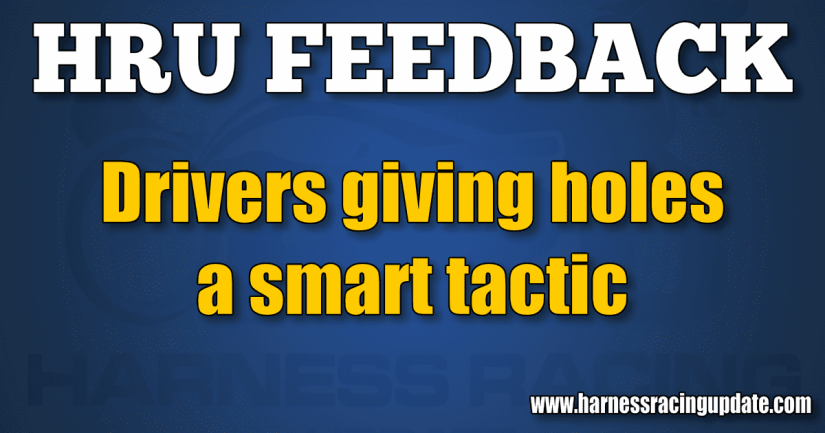 Drivers giving holes a smart tactic