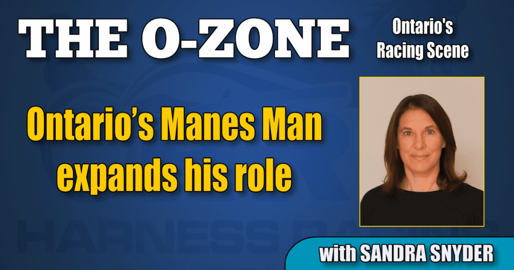 Ontario's Manes Man expands his role