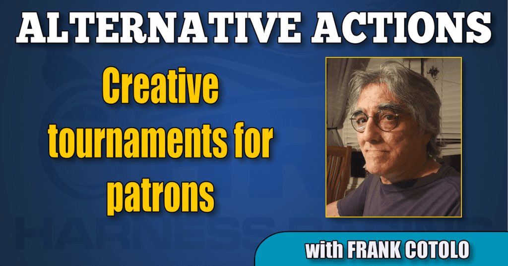 Creative tournaments for patrons