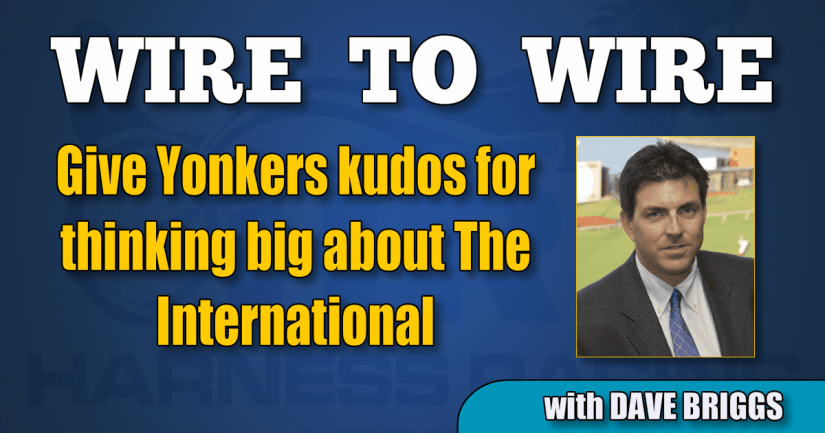Give Yonkers kudos for thinking big about The International