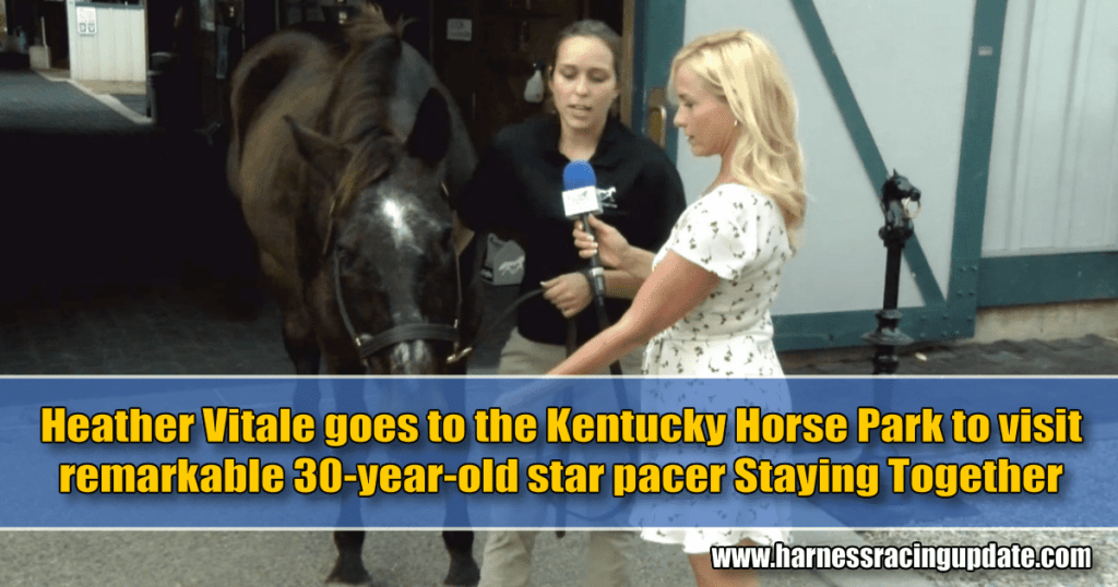 Heather Vitale goes to the Kentucky Horse Park