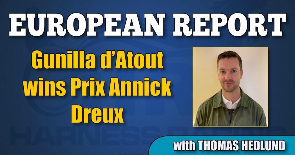 Gunilla d'Atout wins Prix Annick Dreux