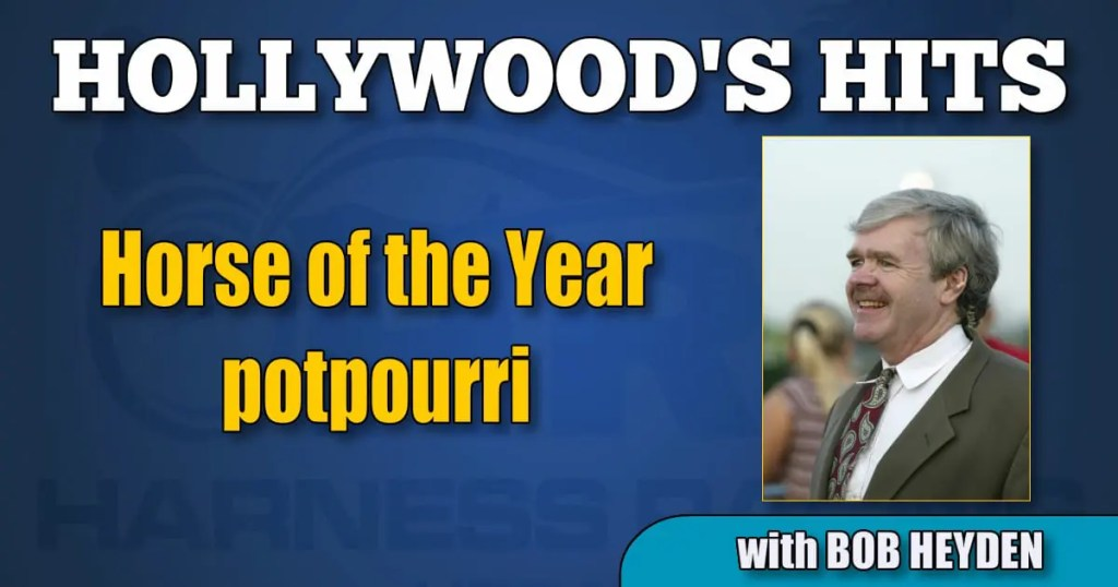 Horse of the Year potpourri