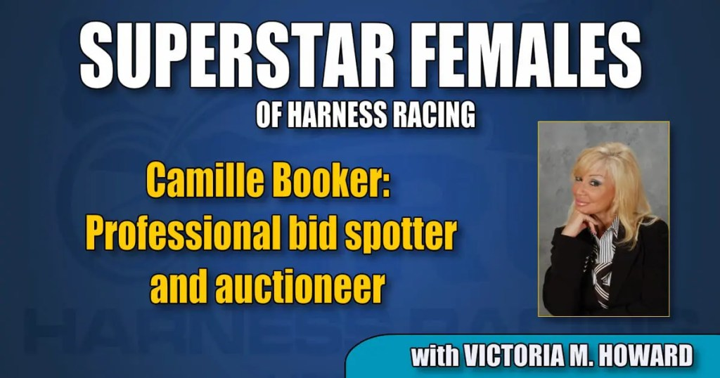 Camille Booker — Professional bid spotter and auctioneer