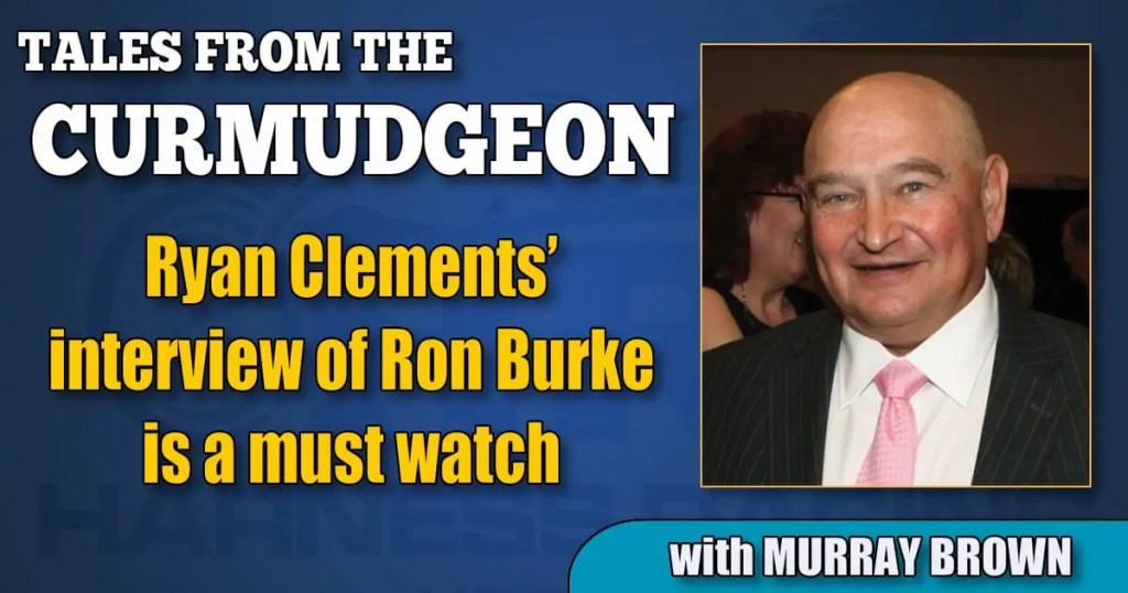 Ryan Clements' interview of Ron Burke is a must watch