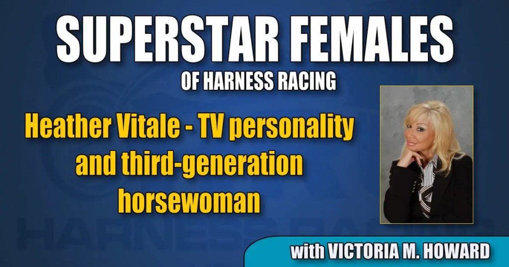 Heather Vitale — TV personality and third-generation horsewoman