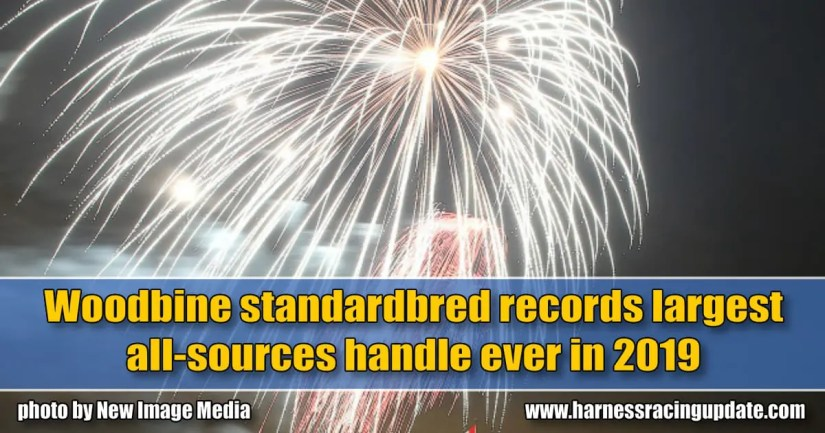 Woodbine standardbred records largest all-sources handle ever in 2019