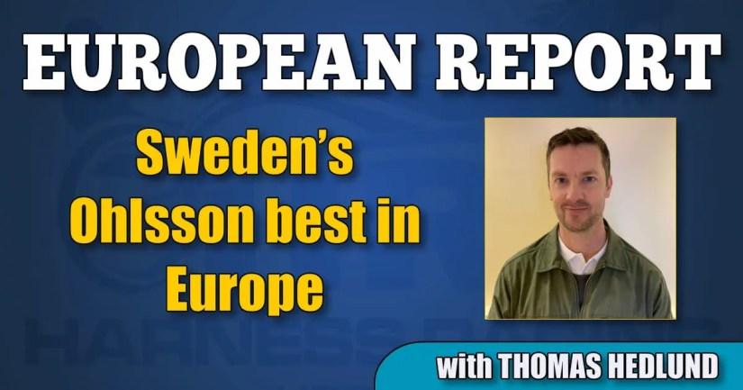 Sweden's Ohlsson best in Europe