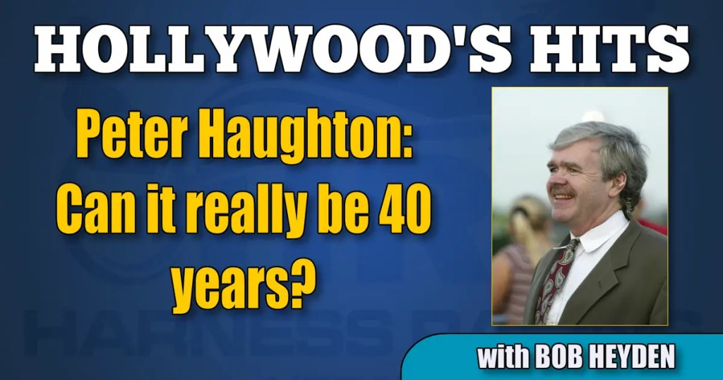 Peter Haughton —Can it really be 40 years?
