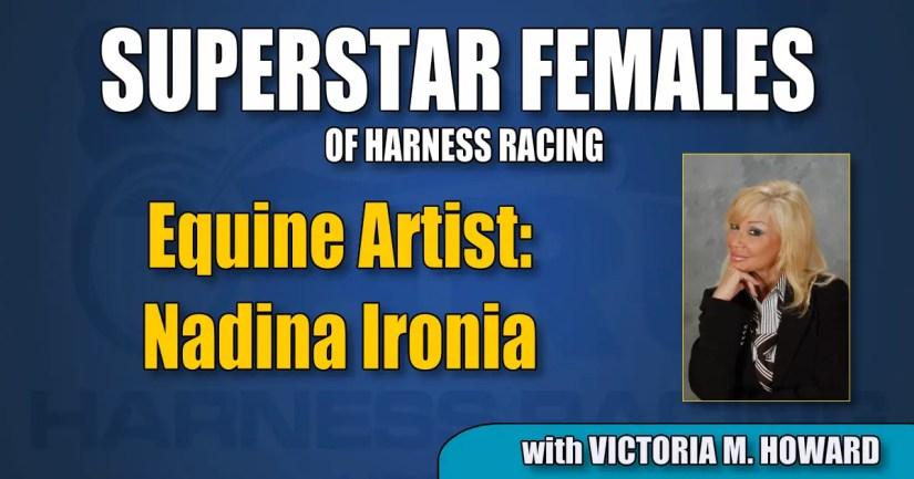 Equine artist Nadina Ironia