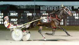 JJ Zamaiko Merriman recorded win 1,000 in 2019 by driving Some More Prince to victory in Monday's 14th race at Northfield Park.