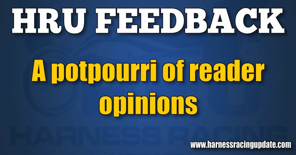 A potpourri of reader opinions