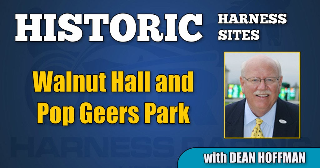 Walnut Hall and Pop Geers Park