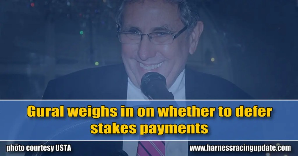 Gural weighs in on whether to defer stakes payments