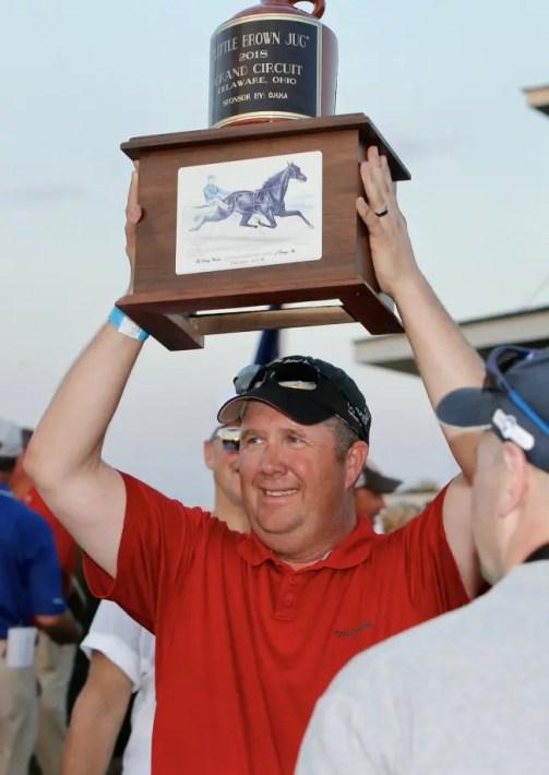 Dave Landry   Trainer Blake MacIntosh.