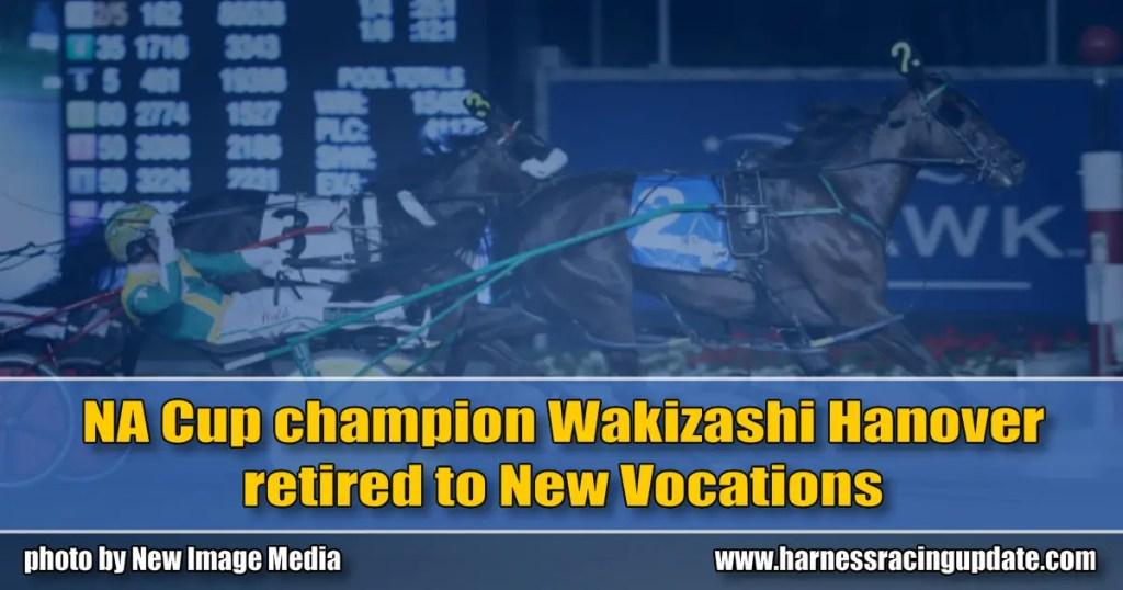 NA Cup champion Wakizashi Hanover retired to New Vocations
