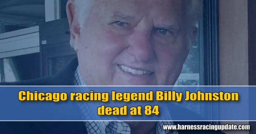 Chicago racing legend Billy Johnston dead at 84