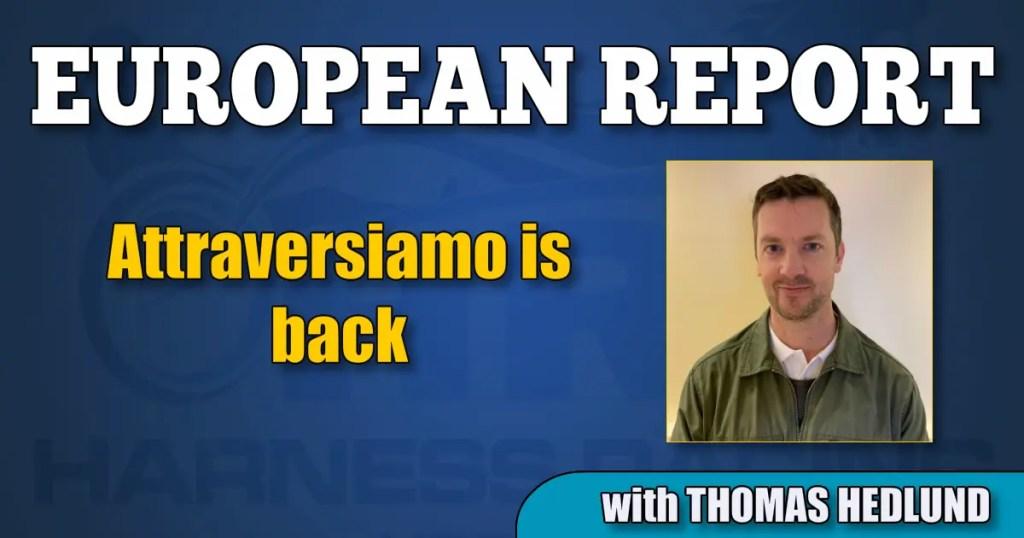 Attraversiamo is back