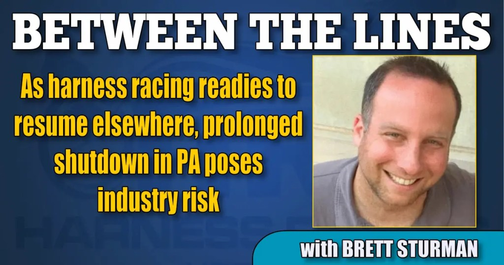 As harness racing readies to resume elsewhere, prolonged shutdown in PA poses industry risk