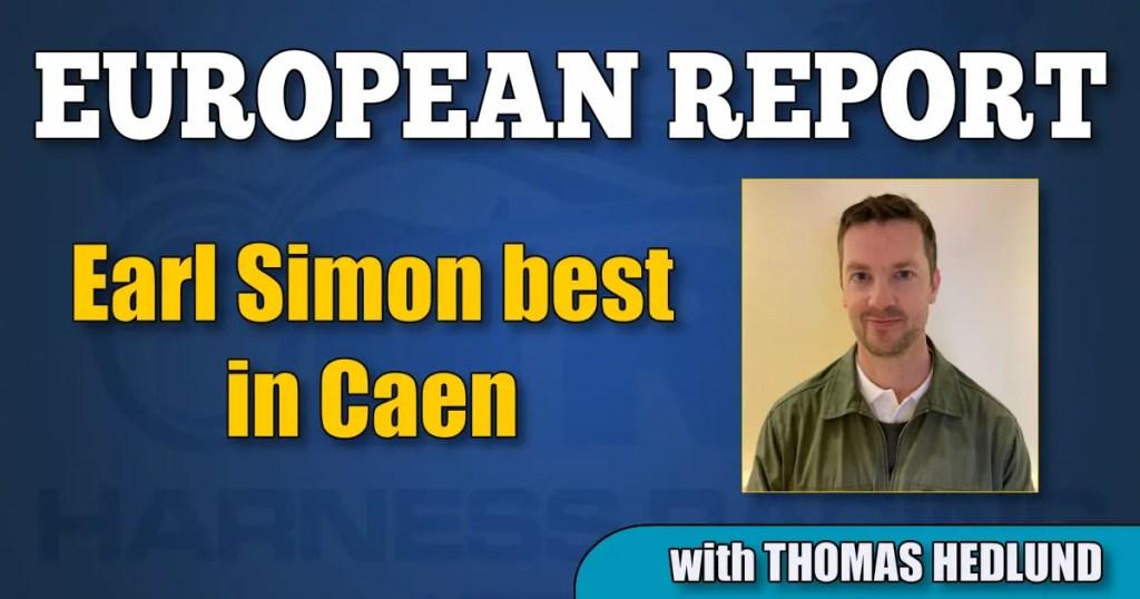 Earl Simon best in Caen