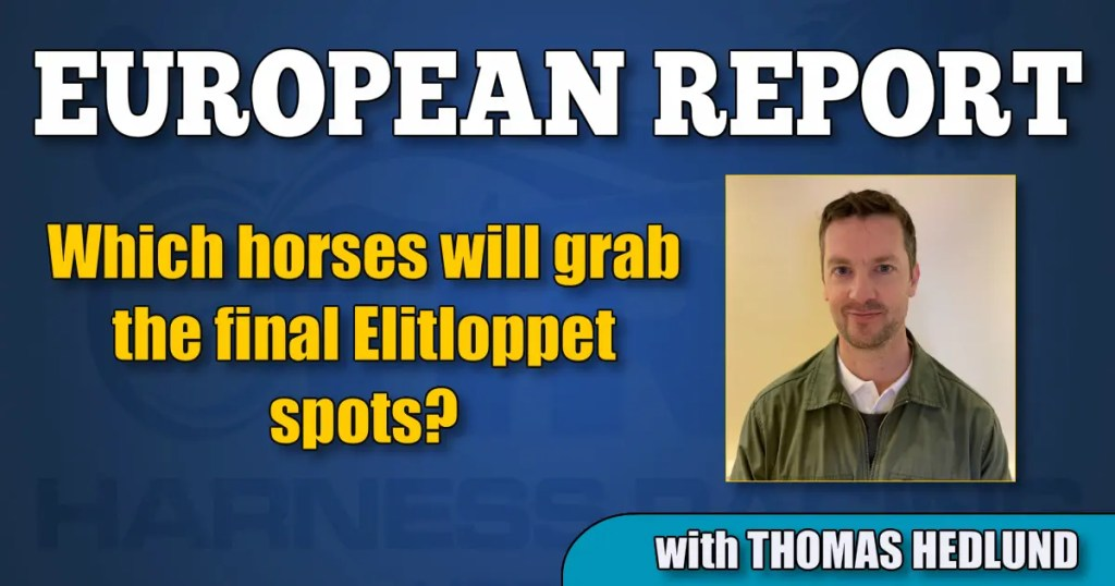 Which horses will grab the final Elitloppet spots?