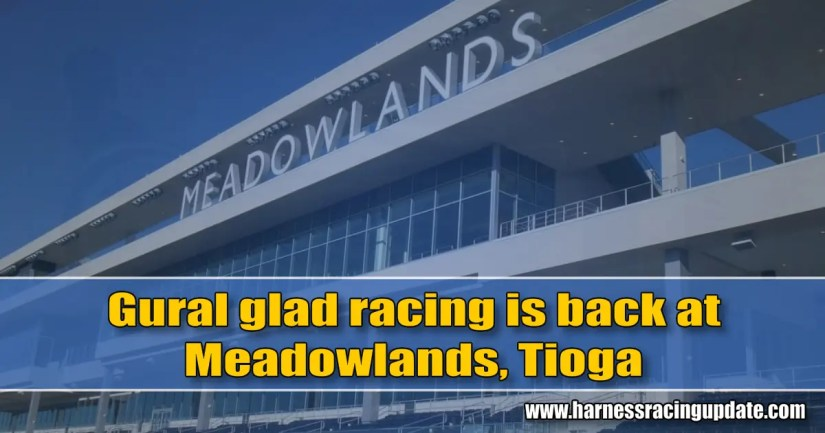 Gural glad racing is back at Meadowlands, Tioga