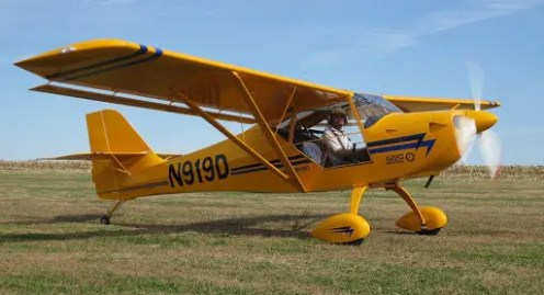 Tom Durand was flying an Aerotrek A-220 similar to this one when the engine failed shortly after takeoff.