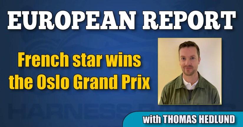 French star wins the Oslo Grand Prix