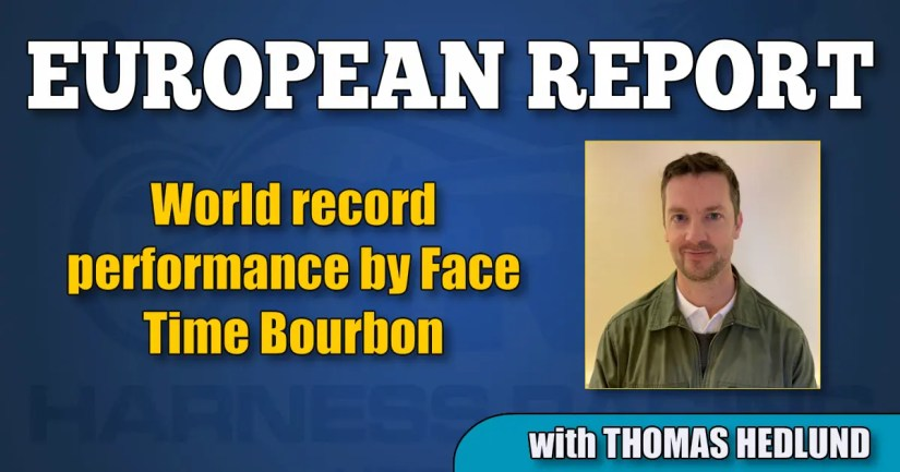 World record performance by Face Time Bourbon