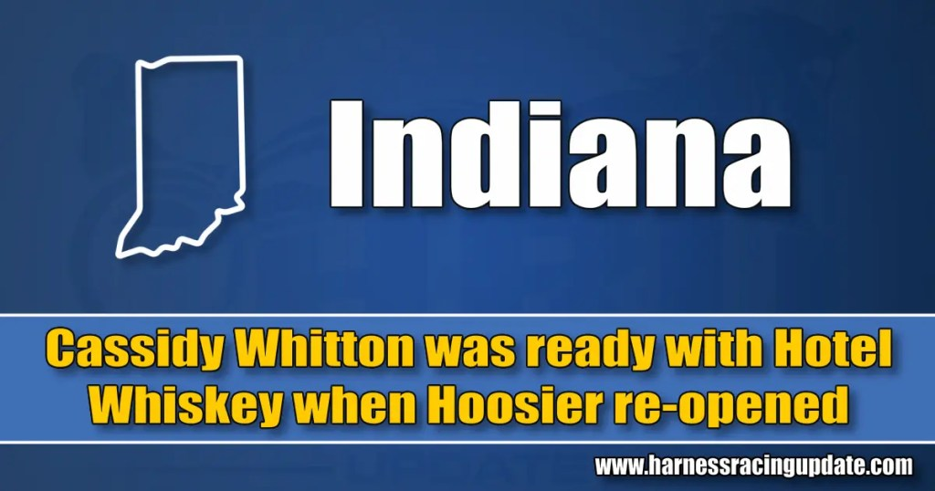 Cassidy Whitton was ready with Hotel Whiskey when Hoosier re-opened
