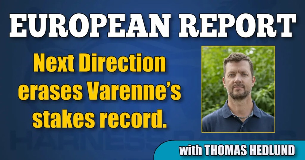Next Direction erases Varenne's stakes record.