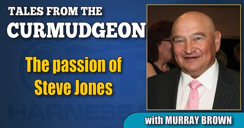 The passion of Steve Jones