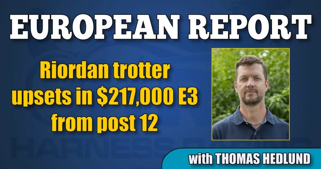 Riordan trotter upsets in $217,000 E3 from post 12
