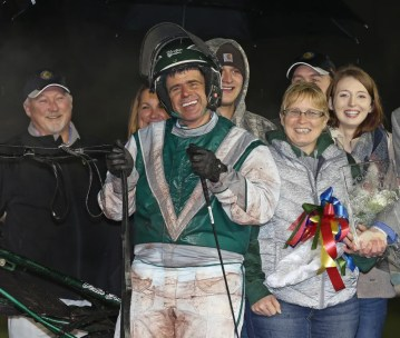 Claus Andersen | Verlin Yoder will sent out Reba Blue Chip in Saturday's Hambletonian Oaks.