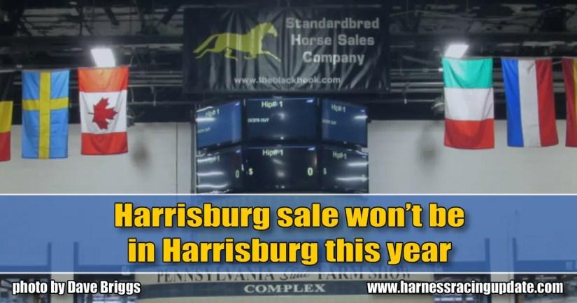 Harrisburg sale won't be in Harrisburg this year