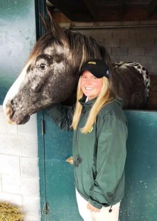 Courtesy Alexis Schwartz | Horses have been a lifelong passion for Alexis Schwartz.