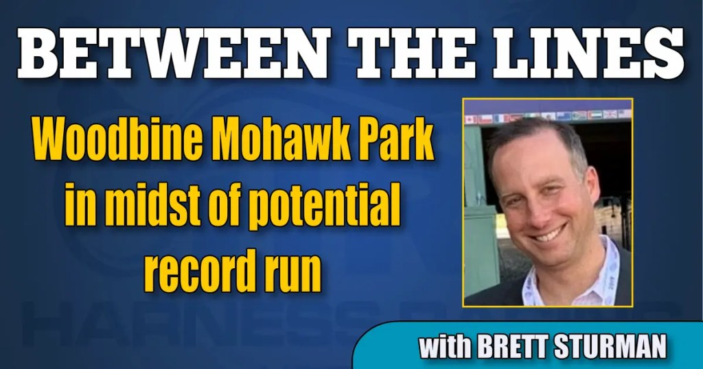 Woodbine Mohawk Park in midst of potential record run