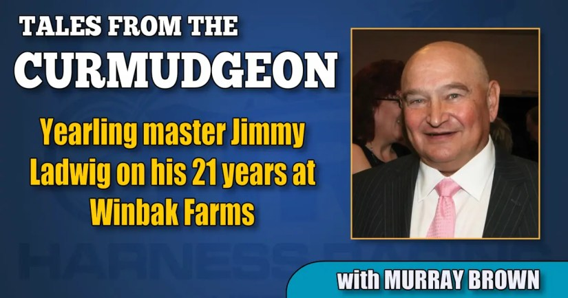 Yearling master Jimmy Ladwig on his 21 years at Winbak Farms